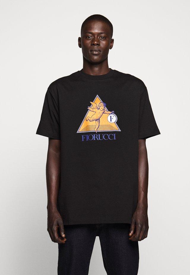 CRUISE CHERRUB TEE - T-shirts med print - black