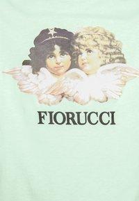 Fiorucci - VINTAGE ANGELS TEE - T-Shirt print - mint green - 7