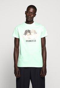 Fiorucci - VINTAGE ANGELS TEE - T-Shirt print - mint green - 0