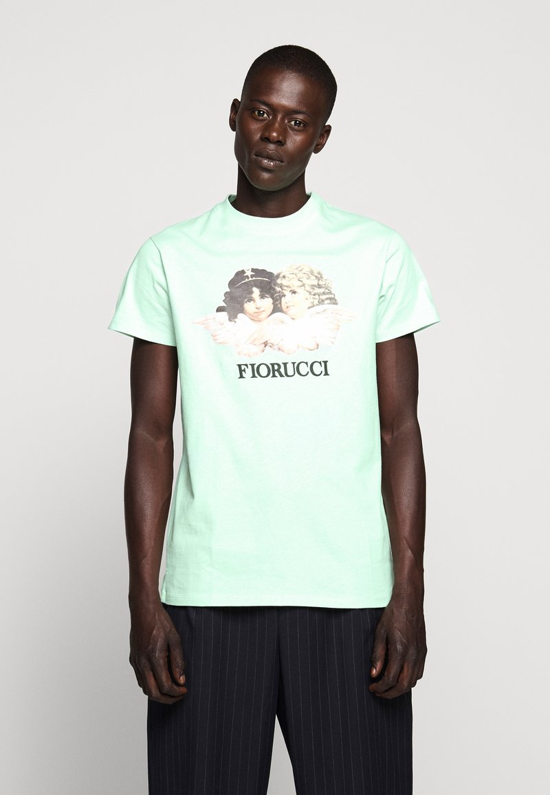 Fiorucci - VINTAGE ANGELS TEE - T-Shirt print - mint green
