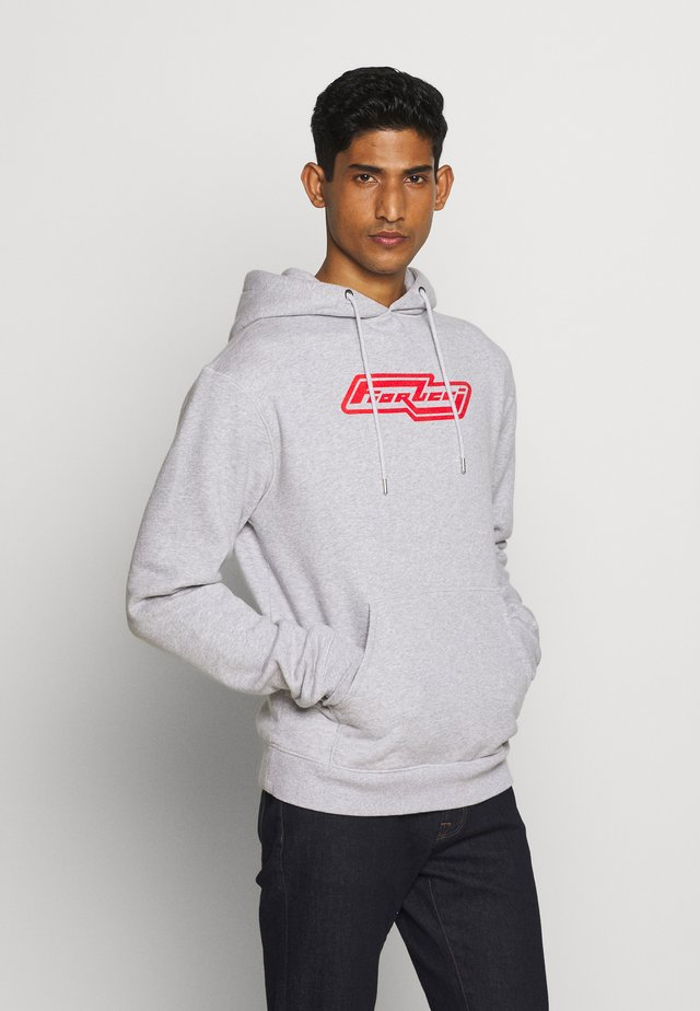 DELIVERY HOODIE - Mikina s kapucí - grey