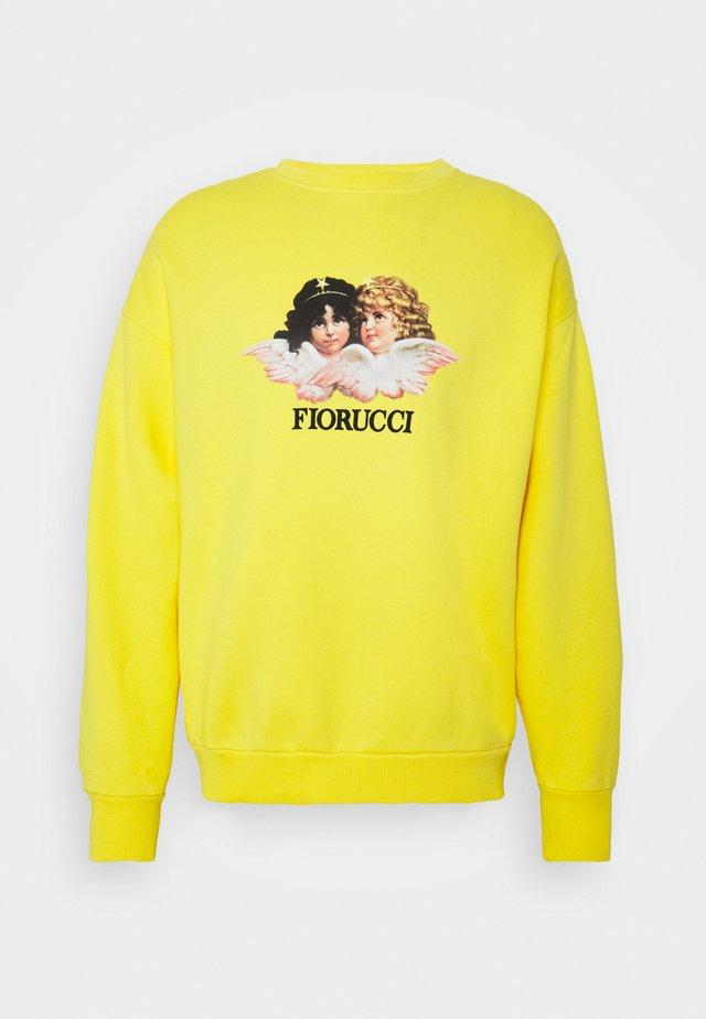 VINTAGE ANGELS  - Sweatshirt - yellow