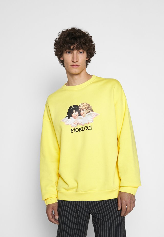 MEN'S VINTAGE ANGELS - Collegepaita - yellow