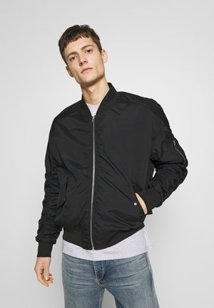ANGELS LOU  - Giubbotto Bomber - black