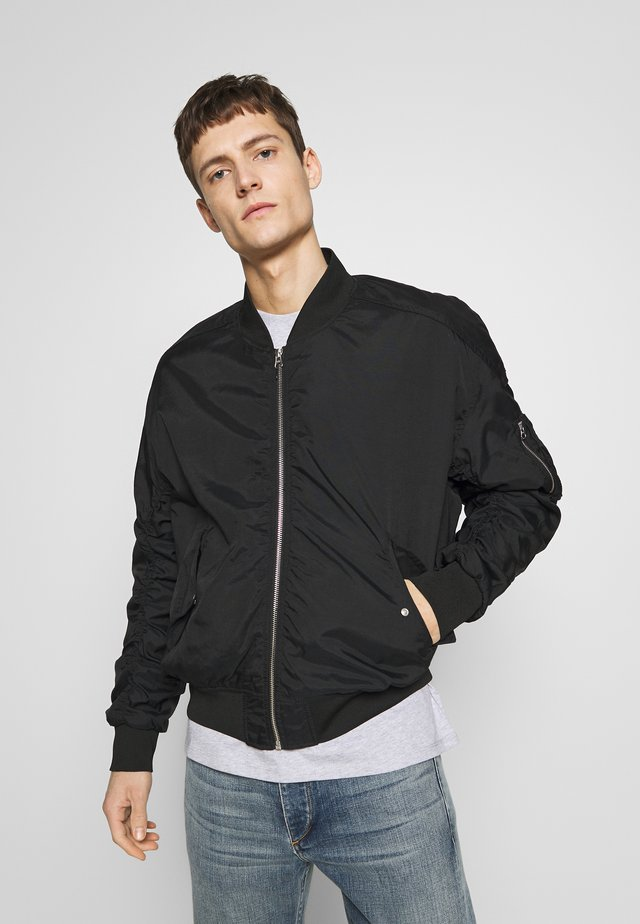 ANGELS LOU  - Bomber Jacket - black