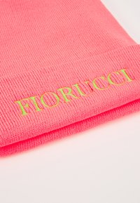 Fiorucci - BEANIE WITH EMBROIDERED LOGO - Čepice - neon pink - 5