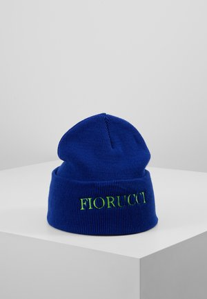 BEANIE WITH EMBROIDERED LOGO - Bonnet - blue