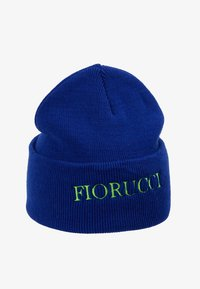 Fiorucci - BEANIE WITH EMBROIDERED LOGO - Pipo - blue - 4