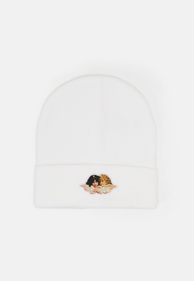 ANGELS PATCH BEANIE UNISEX - Muts - white
