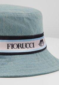 Fiorucci - TAPE BUCKET HAT - Klobouk - light blue denim - 2