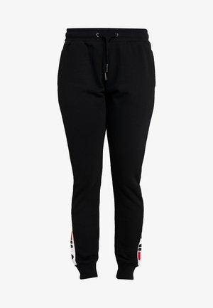 FREYA SLIM - Teplákové kalhoty - black/bright white