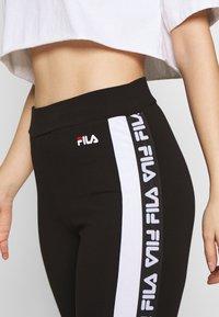 Fila Petite - TASYA PETITE - Leggings - Trousers - black/bright white - 4