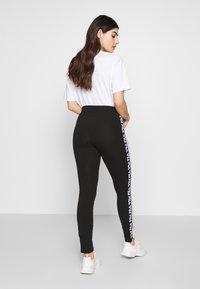 Fila Petite - TASYA PETITE - Leggings - Trousers - black/bright white - 2