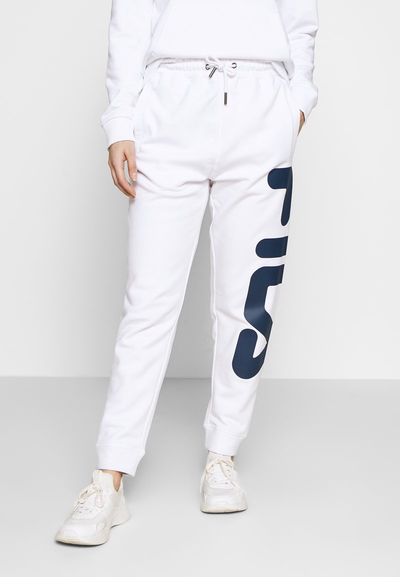 Fila Petite - PUREPANTS PETITE - Tracksuit bottoms - bright white
