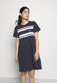 Fila Petite - WATTANTEE DRESS PETITE - Jersey dress - black iris - 0