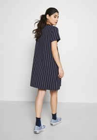 Fila Petite - WATTANTEE DRESS PETITE - Jersey dress - black iris - 2