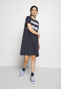 Fila Petite - WATTANTEE DRESS PETITE - Jersey dress - black iris - 1