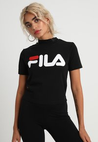Fila Petite - EVERY TURTLE TEE PETITE - Camiseta estampada - black - 0