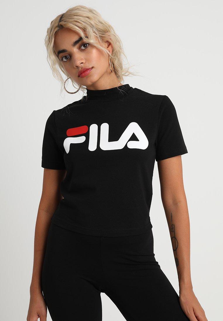 Fila Petite - EVERY TURTLE TEE PETITE - Camiseta estampada - black