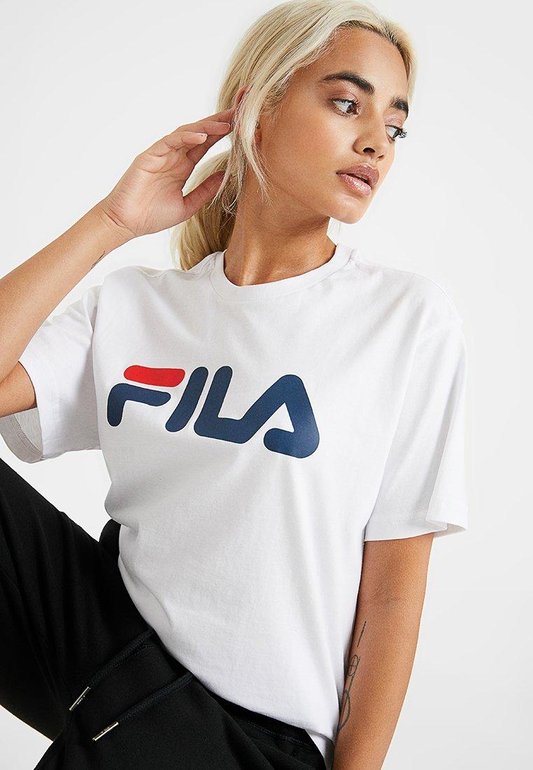 Fila Petite - PURE SLEEVE  - T-shirt con stampa - bright white