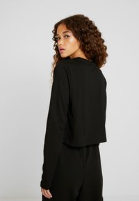 Fila Petite - CROPPED LONG SLEEVED - Top s dlouhým rukávem - black - 2