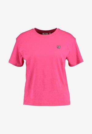 NOVA TEE - Camiseta básica - pink yarrow