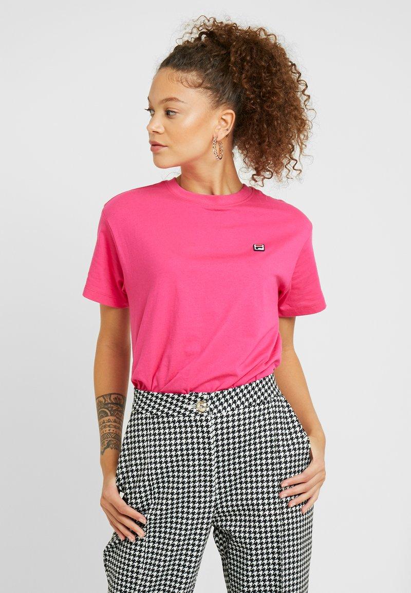 Fila Petite - NOVA TEE - Basic T-shirt - pink yarrow