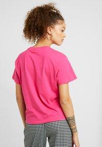 Fila Petite - NOVA TEE - Basic T-shirt - pink yarrow - 2