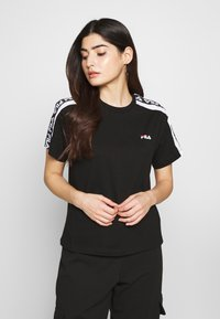 Fila Petite - TANDYTEE - Camiseta estampada - black/bright white - 0