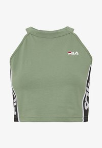 Fila Petite - TAMACROPPED  - Camiseta estampada - sea spray - 3