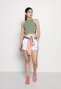 Fila Petite - TAMACROPPED  - Camiseta estampada - sea spray - 1