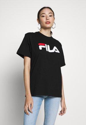 PURETEE PETITE - Camiseta estampada - black