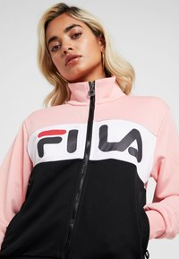 Fila Petite - BRONTE TRACK JACKET - Giacca sportiva - black/quarz pink/bright white - 3