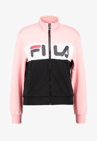 Fila Petite - BRONTE TRACK JACKET - Giacca sportiva - black/quarz pink/bright white - 4