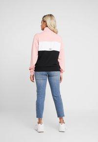 Fila Petite - BRONTE TRACK JACKET - Giacca sportiva - black/quarz pink/bright white - 2