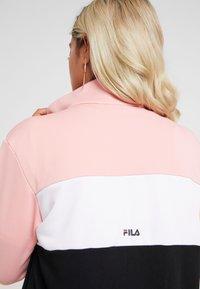 Fila Petite - BRONTE TRACK JACKET - Giacca sportiva - black/quarz pink/bright white - 5