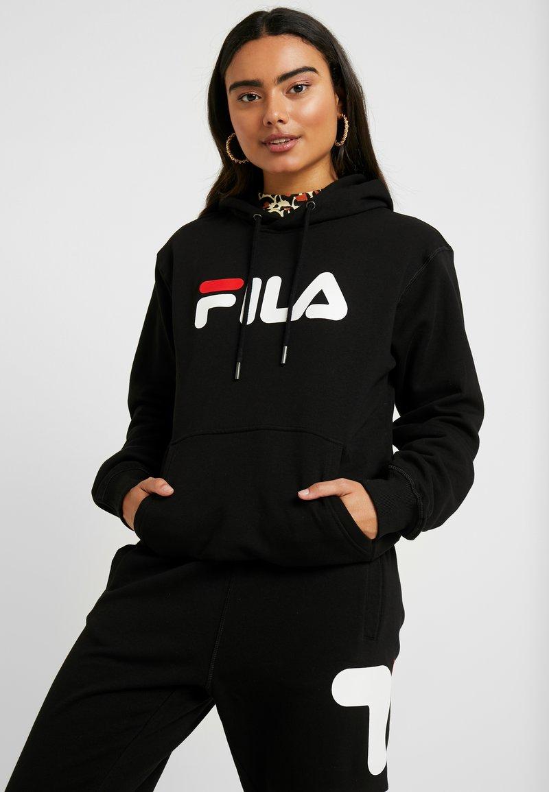 Fila Petite - PURE HOODY - Hættetrøjer - black