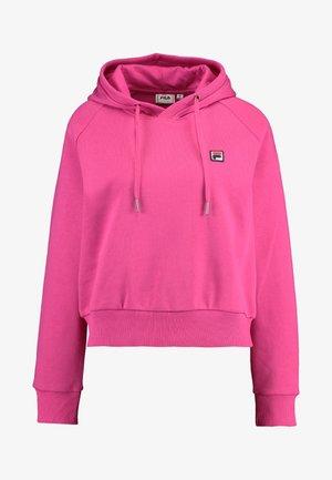 FLORESHA HOODY - Jersey con capucha - pink yarrow