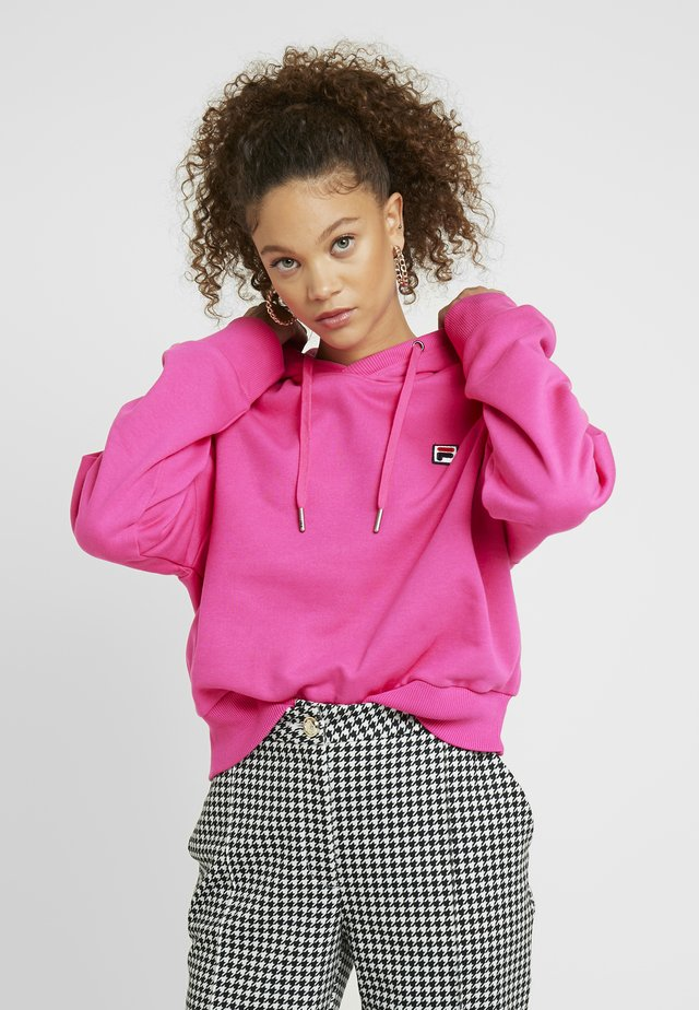 FLORESHA HOODY - Sweat à capuche - pink yarrow