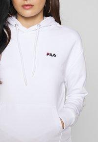 Fila Petite - EBBAHOODY - Hoodie - bright white - 5