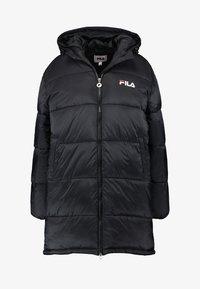 Fila Petite - BRONWED PUFF HOOD JACKET - Abrigo de invierno - black - 5