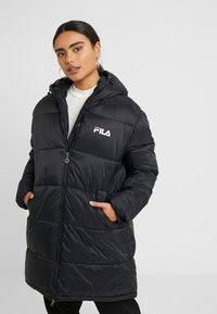 Fila Petite - BRONWED PUFF HOOD JACKET - Abrigo de invierno - black - 0
