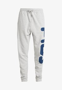 Fila Tall - PURE BASIC PANTS - Spodnie treningowe - light grey melange - 4