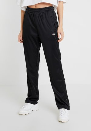 GERALYN TRACK PANTS - Verryttelyhousut - black