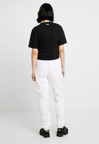 Fila Tall - ALMA PANTS - Kangashousut - bright white - 2