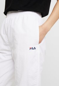 Fila Tall - ALMA PANTS - Kangashousut - bright white - 4