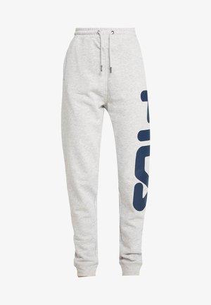PURE PANTS - Pantalones deportivos - light grey melange