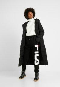 Fila Tall - PURE PANTS - Spodnie treningowe - black - 2
