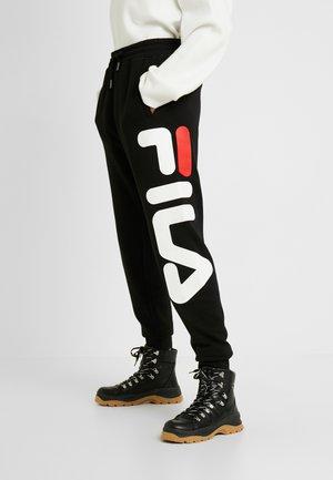 PURE PANTS - Verryttelyhousut - black
