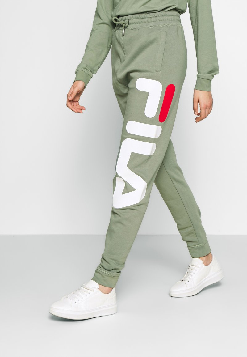 Fila Tall - PURE PANTS - Tracksuit bottoms - sea spray